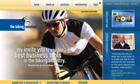 Biking Solutions Website screenshot